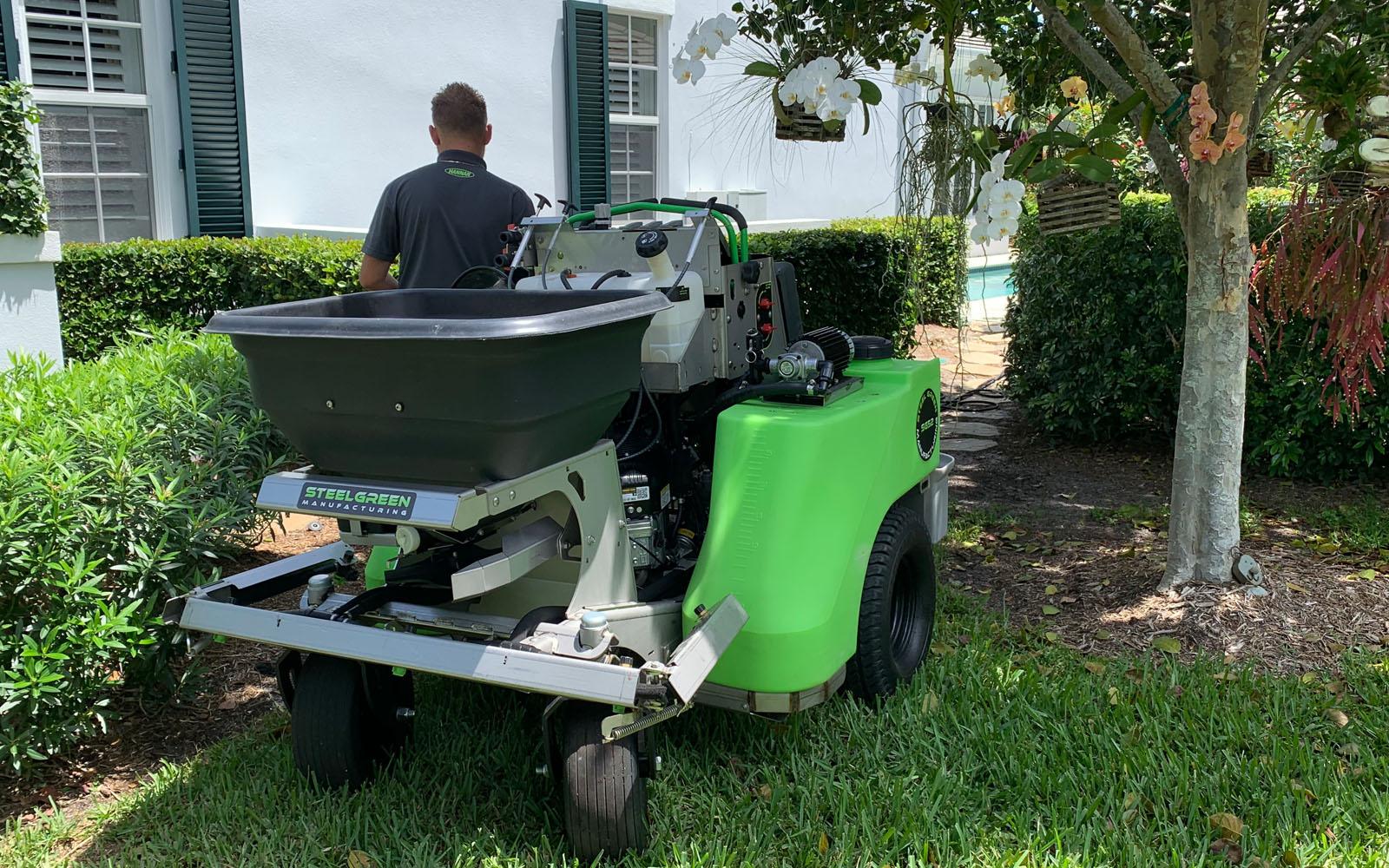 lawn-care-machine